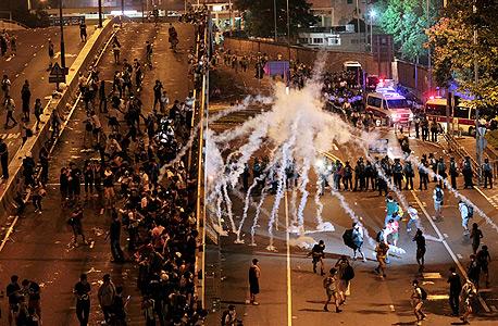 הפגנות בהונג קונג, צילום: איי פי
