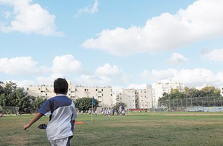 מגרש הכדורגל. ביתה של הפועל מחנה יהודה מאז 1949