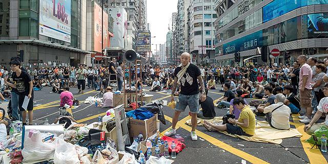 ההפגנות בהונג קונג, צילום: איי אף פי