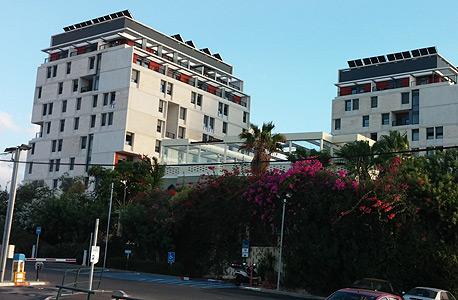 מעונות הסטודנטים החדשים באוניברסיטת תל אביב, צילום: כרמית פלר