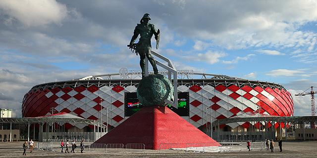 אצטדיון ספרטק מוסקבה. מיליארדי רובל, צילום: אם סי טי