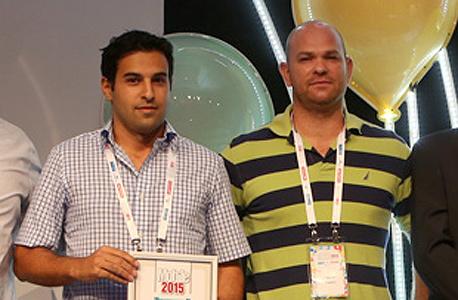 מייסדי CallVU זיו אור ואורי פארן - הסטארט-אפ המוביל לשנת 2015