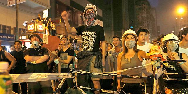 """""""מבחינת סין, אין סיכוי שהשאיפה של תושבי הונג קונג תתממש"""""""