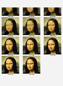 השלבים האחרונים בהתפתחות של המונה ליזה, צילום מסך:  rogeralsing.com