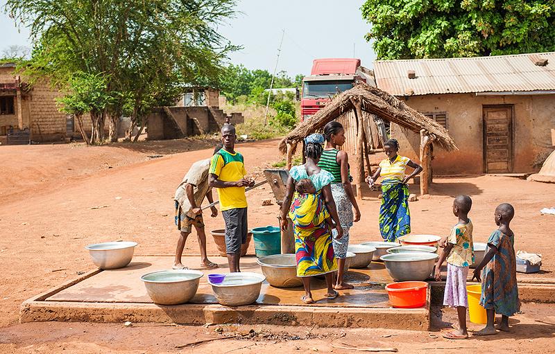 משפחה בקונגו