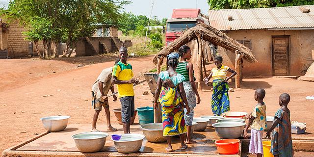 משפחה בקונגו, צילום: שאטרסטוק