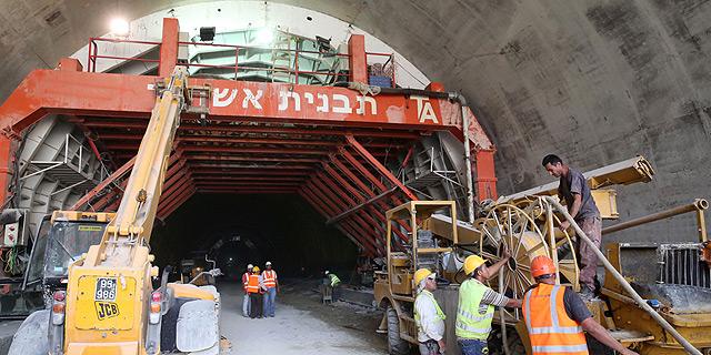 מקצרים את הדרך לבירה: הושלמה כריית המנהרות בכביש החדש לירושלים