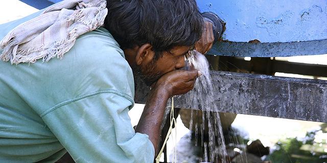 """דו""""ח: שינויי האקלים יגרמו לאסונות קשים ויעמיקו את העוני באסיה"""