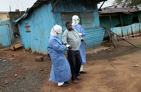 כפרים בהם התפשטה המחלה, צילום: אימג
