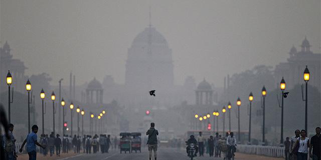 זיהום האוויר בהודו, צילום: איי פי