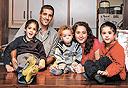 משפחת קידר, צילום: אבישג שאר ישוב