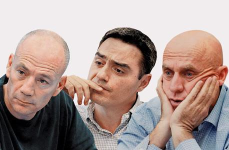מימין יוסי ורשבסקי, אבי צבי ואבי ניר