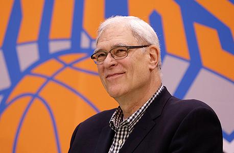 פיל ג'קסון נשיא לענייני כדורסל ניו יורק ניקס