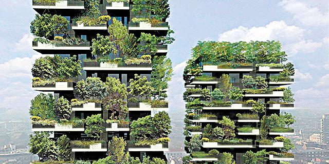 המרפסת של השכן (פי 21 אלף) ירוקה יותר