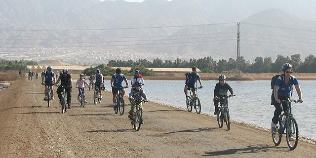 רוכבי אופניים באילת (ארכיון), צילום: דוברות עיריית אילת