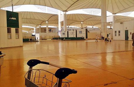 נמל התעופה הבינלאומי בג'דה סעודיה. ההתקפה לא הובילה לעיכובים בטיסות