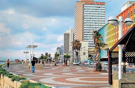 WiFi ברחובות נבחרים. טיילת תל אביב