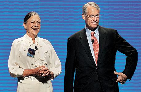 """קפיטליזם 3.0 יו""""ר וולמארט רוב וולטון עם אחותו אליס, צילום: בלומברג"""