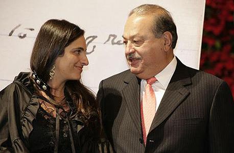 מריה סומאיה סלים דה רומרו עם אביה, צילום: Quien.com