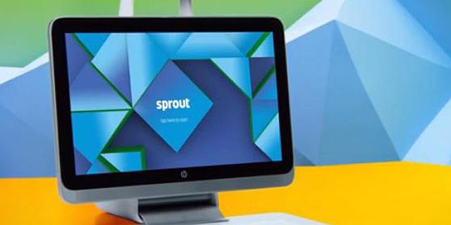 HP :Sprout ממציאה מחדש את המחשב השולחני