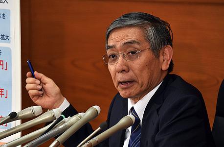 מושל הבנק של יפן הרוהיקו קורודה
