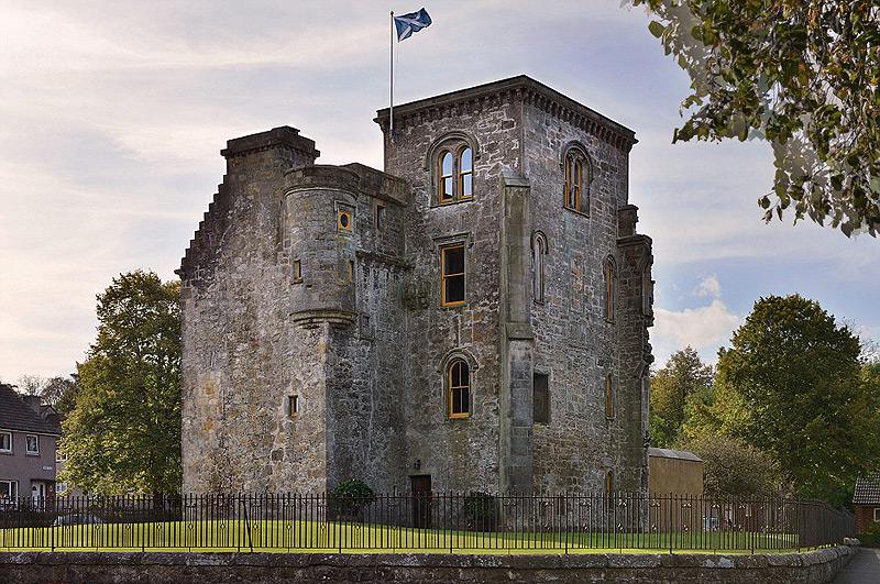 הטירה הסקוטית. שלכם ב-2.7 מיליון שקל בלבד, צילום: savills.co.uk