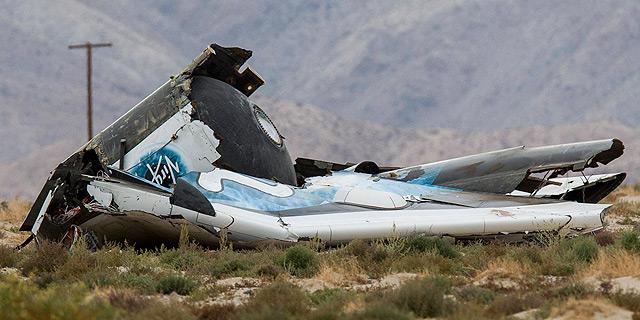 ספינת החלל של וירג'ין גלקטיק התרסקה בטיסת ניסוי; אחד הטייסים נהרג