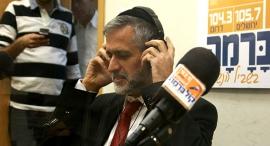 אלי ישי ב רדיו קול ברמה, צילום: שאול גולן