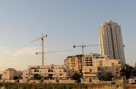 בנייני מגורים במודיעין, צילום: גיא אסיאג