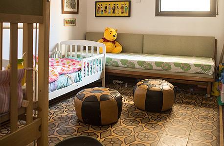 חדר השינה של הילדים, צילום: תומי הרפז
