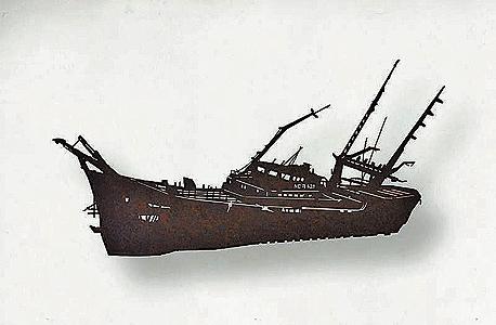 """""""ספינה N28"""", ניר אדוני. 2,360 שקל"""