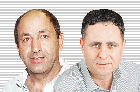 מימין רמי שביט ו רמי לוי, צילום: אוראל כהן