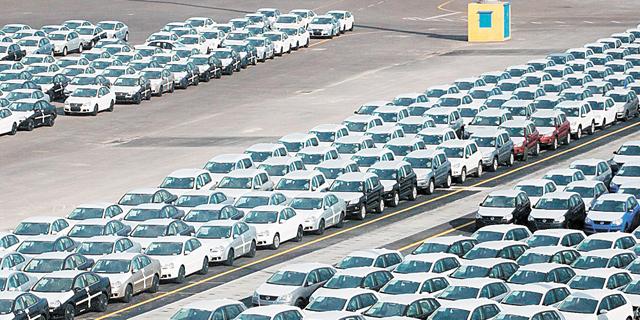 חשש בענף הרכב: מסירות מכוניות חדשות יצנחו בספטמבר בגלל הסגר