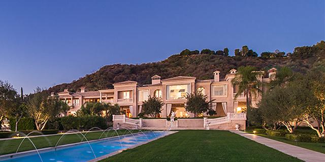 """ארה""""ב: הבית היקר ביותר מוצע למכירה - תמורת 195 מיליון דולר"""