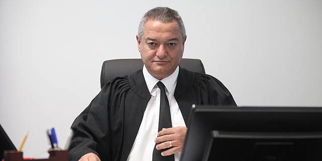 """השופט חאלד כבוב. """"לא הוגשה פנייה מוקדמת לבנק"""", צילום: אוראל כהן"""