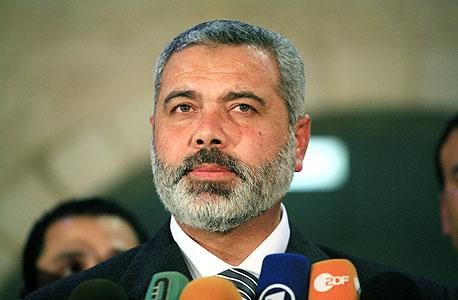 ראש ממשלת החמאס, איסמעיל הנייה