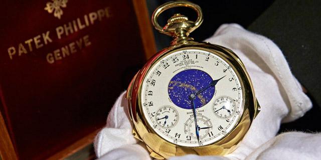 השעון היקר בעולם נמכר תמורת 24 מיליון דולר