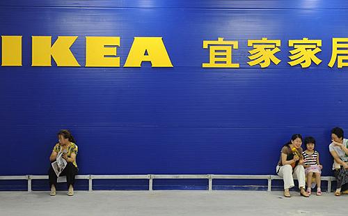 איקאה שנגחאי סין, צילום: ikea