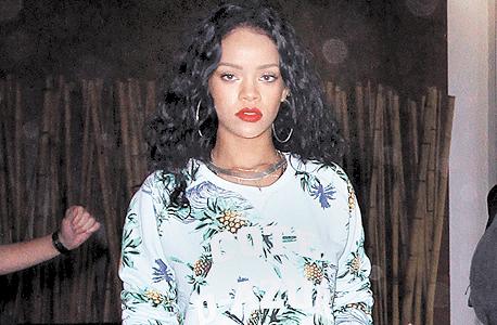 פופולרית בישראל. ריהאנה