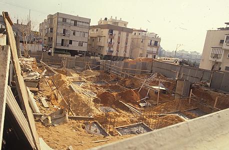 פרויקט מגורים בבנייה (ארכיון)