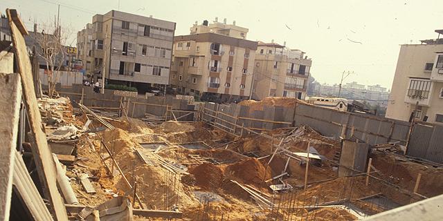 פרויקט מגורים בבנייה (ארכיון), צילום: שאול גולן