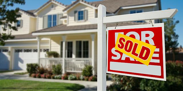 """בית חדש שנמכר בארה""""ב, צילום: שאטרסטוק"""