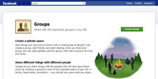 פייסבוק Groups: להקים קבוצה באבחת אצבע