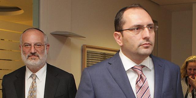 מימין: מוטי בן משה ואדוארדו אלשטיין, בעלי השליטה באי.די.בי, צילום: אוראל כהן