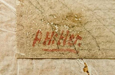 חתימת היטלר , צילום: אי פי איי