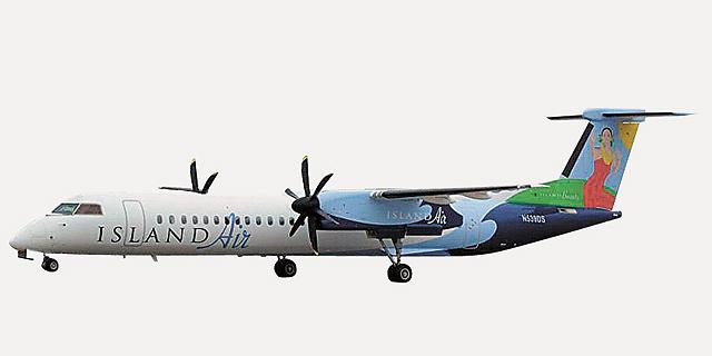 מטוס של איילנד אייר בהונולולו