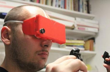 עיצוב פלסטי פשוט. משקפי פינץ