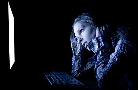 צעירות בישראל סובלות מהטרדה ברשת. אילוסטרציה