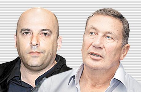 מימין נוחי דנקנר ו איתי שטרום, צילום: אוראל כהן, ענר גרין