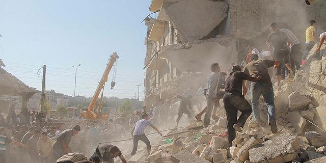 המלחמה בסוריה תעצור את ההסלמה